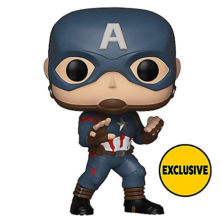 Avengers - Captain America Funko POP! Bobble-Head Figur (Exclusive)