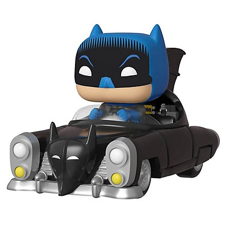 Batman - 1950 Batman im Batmobil Funko POP! Ride Figur