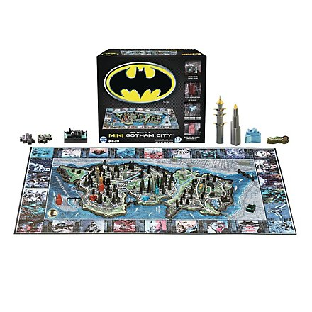 Batman - 4D Mini Puzzle Gotham City