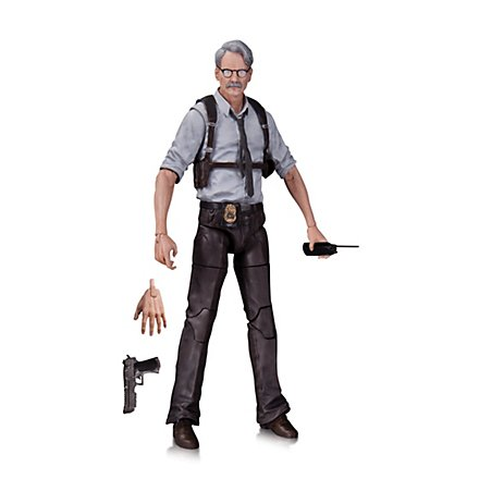 Batman - Actionfigur Commissioner Gordon
