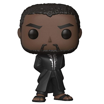 Black Panther - T'challa in Schwarzer Robe Funko POP! Wackelkopf Figur