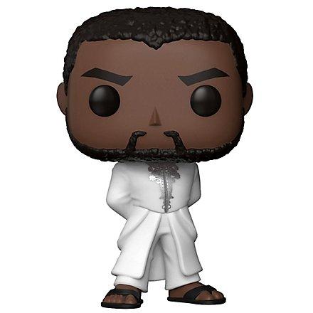 Black Panther - T'challa in Weißer Robe Funko POP! Wackelkopf Figur