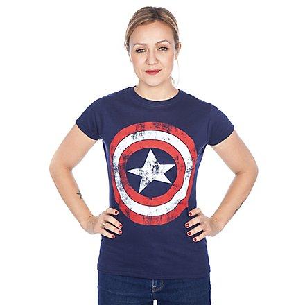 Captain America Girlie Shirt Schild