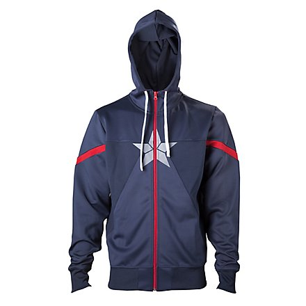 Captain America - Hoodie Jacke Civil War