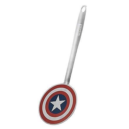 Captain America - Pfannenwender Schild bunt