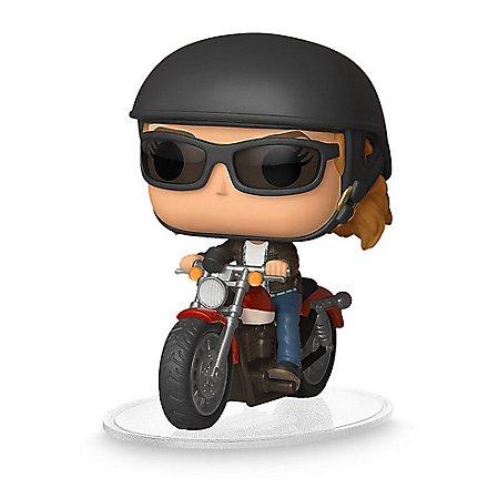 Captain Marvel - Carol Danvers on Motorcycle Funko POP! Ride Wackelkopf Figur