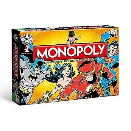 DC - Monopoly Brettspiel Comics