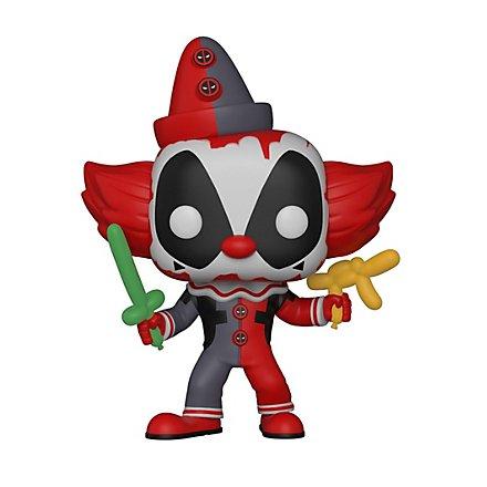 Deadpool - Deadpool Clown Funko POP! Wackelkopf Figur
