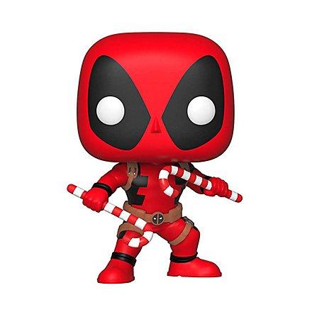 Deadpool - Deadpool mit Zuckerstangen Funko POP! Wackelkopf Figur
