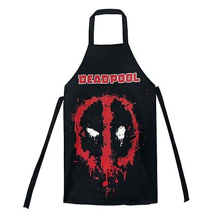 Deadpool - Kochschürze Gesicht