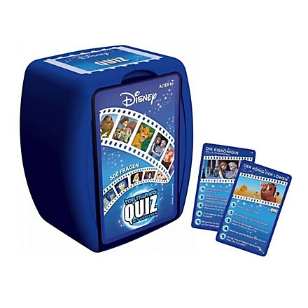 Disney - Top Trumps Quiz Disney Classic Kartenspiel
