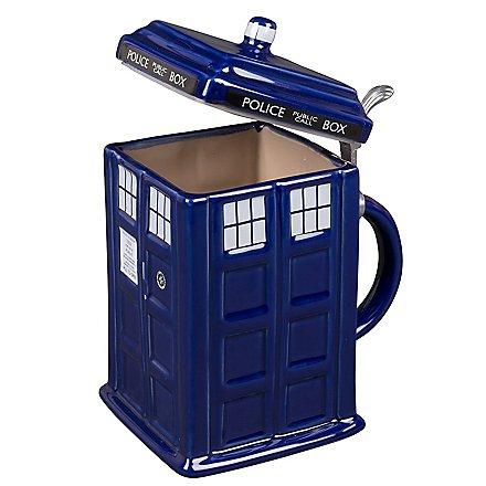 Doctor Who - Krug mit Deckel Tardis