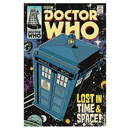 Doctor Who - Poster Lost in Time & Space