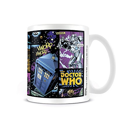 Doctor Who - Tasse Comic Strip