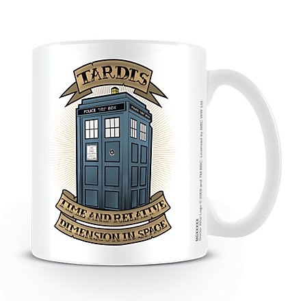 Doctor Who - Tasse Tardis Illustration