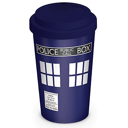 Doctor Who - Thermobecher Tardis