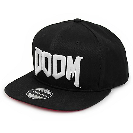 Doom - Snapback Cap Logo