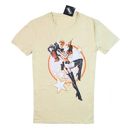 Fallout - T-Shirt Nuka Cola Pinup Beige