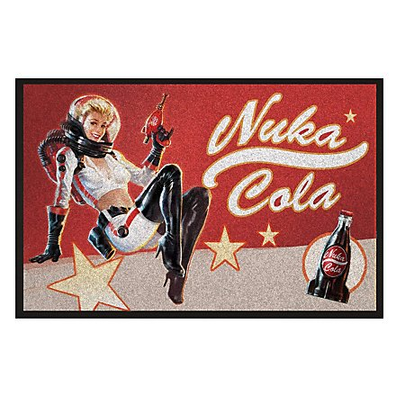 Fallout - Türmatte Nuka Cola Pin-Up