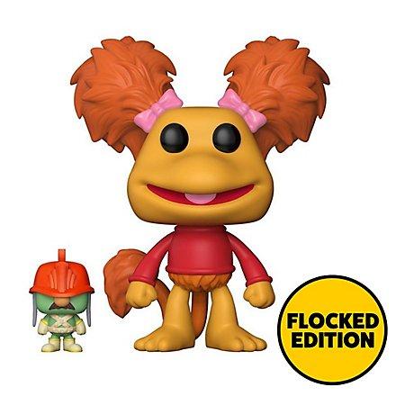 Fraggles - Red mit Doozer (Flocked) Funko POP! Figur (Exclusive)