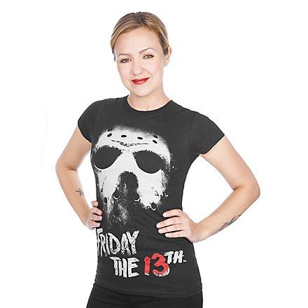 Freitag der 13. Girlie Shirt Jason Voorhees