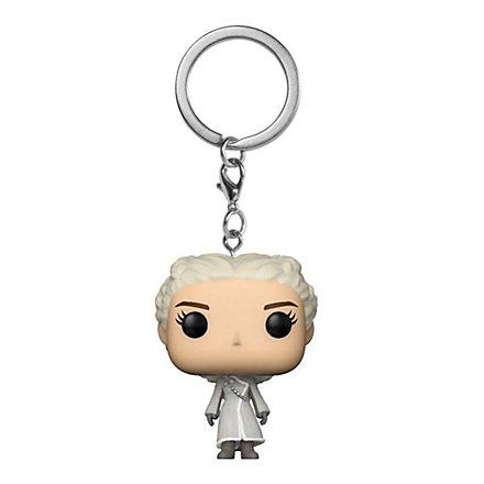 Game of Thrones - Daenerys (Weißer Mantel) Funko Pocket POP! Schlüsselanhänger