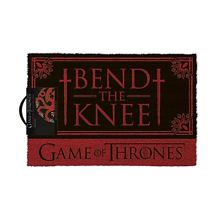 Game Of Thrones - Fußmatte Bend the Knee