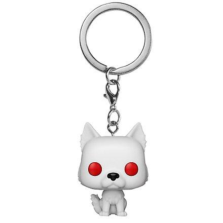 Game of Thrones - Ghost Funko Pocket POP! Schlüsselanhänger