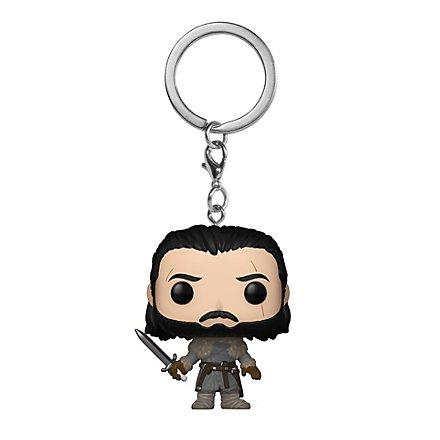 Game of Thrones - Jon Schnee (Jenseits der Mauer) Funko Pocket POP! Schlüsselanhänger