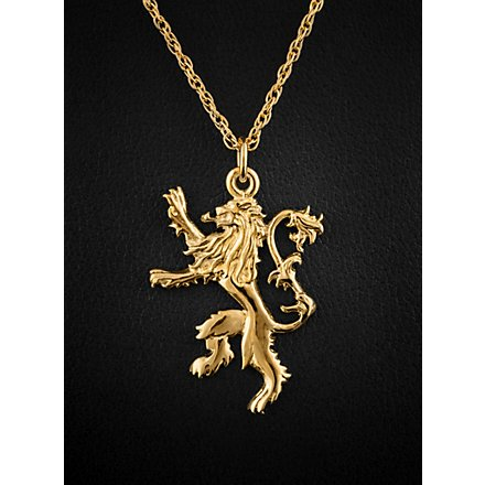 Game of Thrones Lannister Goldkette