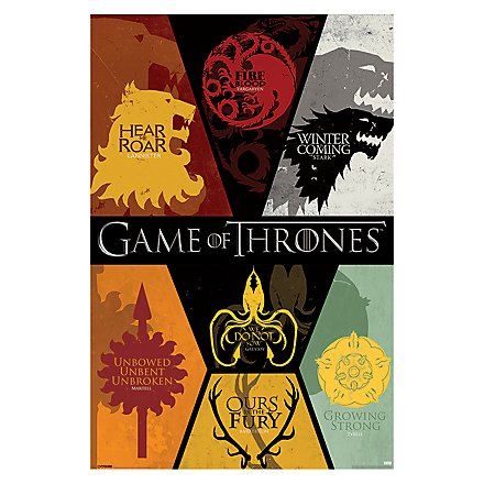 Game of Thrones - Poster Wappen
