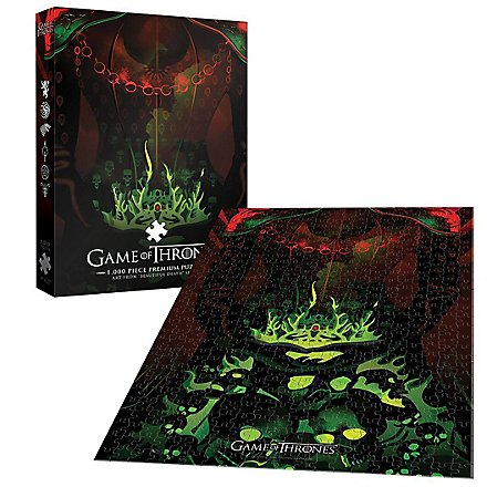 """Game of Thrones - Premium Puzzle """"Long May She Reign"""""""
