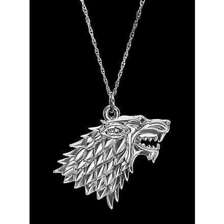 Game of Thrones Stark Silberkette
