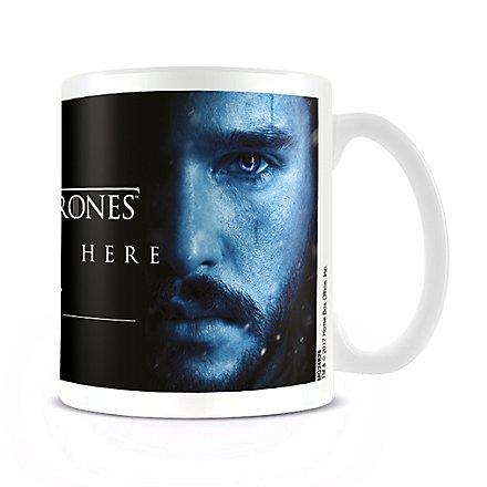 Game of Thrones - Tasse Winter is Here mit Jon Snow