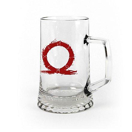 God of War - Pint Glas Serpent Logo
