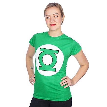 Green Lantern Girlie Shirt Logo