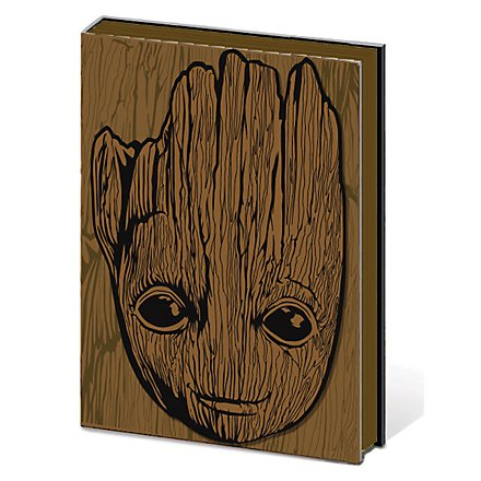 Guardians of the Galaxy - Premium Notizbuch A5 Vol. 2 Groot
