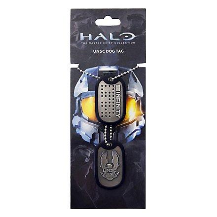Halo 4 Dog Tags Unsc Logo Superepic Com
