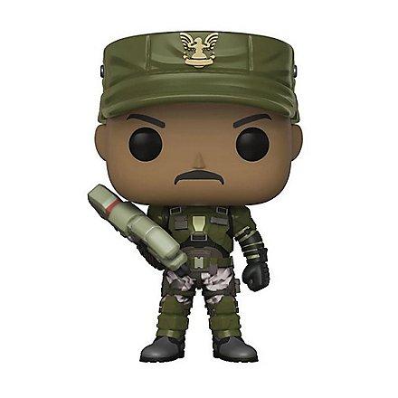 Halo - Sgt. Johnson Funko POP! Figur (Chase Chance)