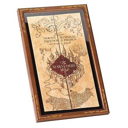 Harry Potter Display für die Karte des Rumtreibers