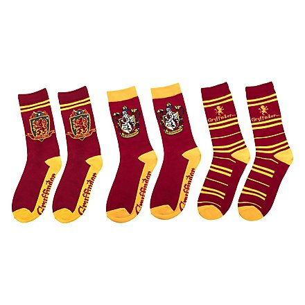 Harry Potter - Gryffindor Socken 3er-Pack