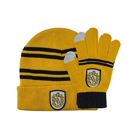 Harry Potter - Kids Beanie & Handschuhe Set Hufflepuff