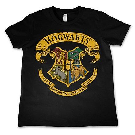 Harry Potter - Kinder T-Shirt Hogwarts Wappen