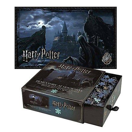 Harry Potter - Puzzle Dementoren über Hogwarts