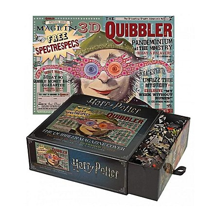 Harry Potter - Puzzle Klitterer Magazin Cover