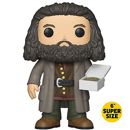 Harry Potter - Rubeus Hagrid mit Kuchen Super Size Funko POP! Figur