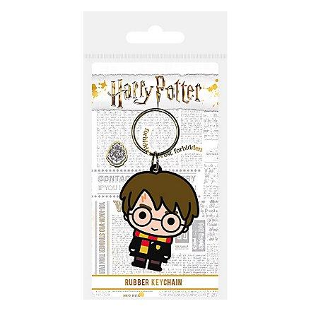 Harry Potter - Schlüsselanhänger aus Gummi Harry Potter Chibi