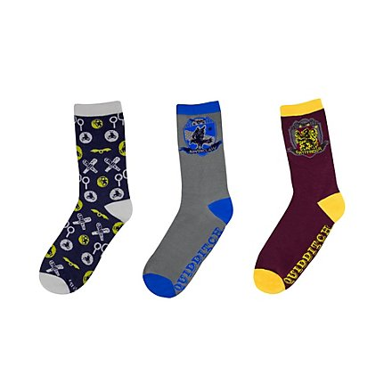 Harry Potter - Socken Goldener Schnatz im 3er-Pack