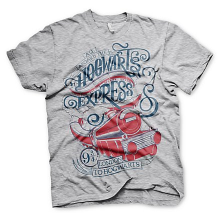 Harry Potter - T-Shirt All Aboard The Hogwarts Express