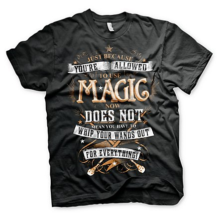 Harry Potter - T-Shirt Magic